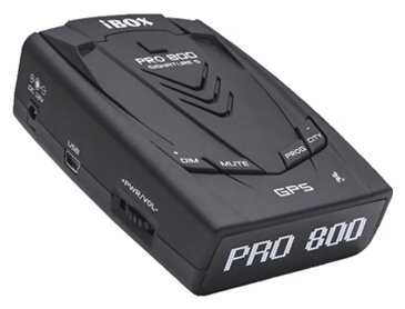 Радар-детектор iBOX Pro 800 Signature S, черный