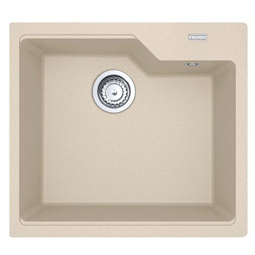 Фото - Врезная кухонная мойка 56 см FRANKE UBG 610-56 бежевый врезная кухонная мойка 56 см franke sid 610 полярный белый