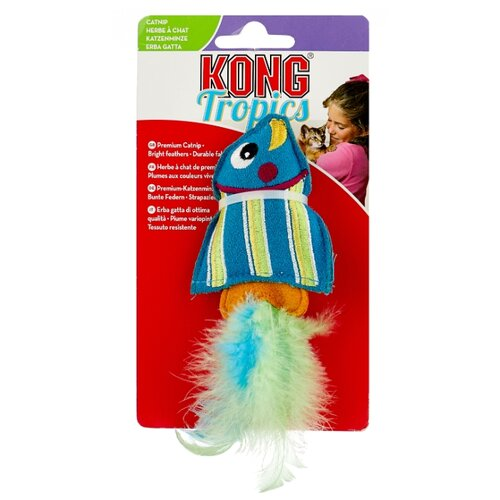 Фото - Набор игрушек для кошек KONG Тропическая рыбка с кошачьей мятой (CT413E) голубой/желтый полесье набор игрушек для песочницы 468 цвет в ассортименте