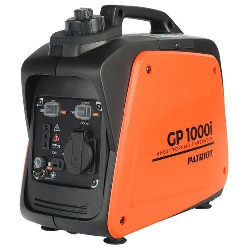 Фото - Бензиновый генератор PATRIOT GP 1000i (700 Вт) бензиновый генератор patriot gp 6510le 5000 вт
