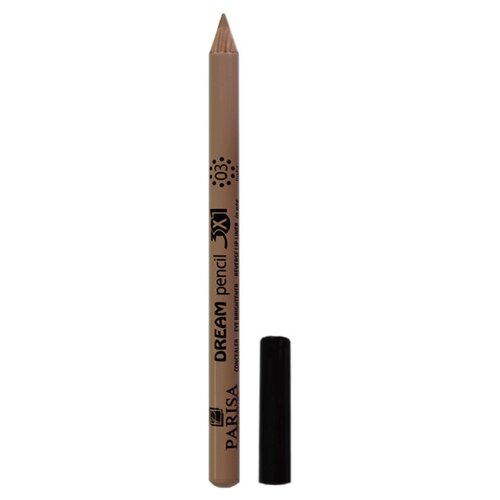 Parisa Карандаш-корректор Dream Pencil 3in1, оттенок 03
