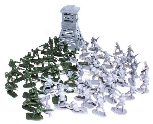 Набор фигурок Биплант Рота солдат 12053