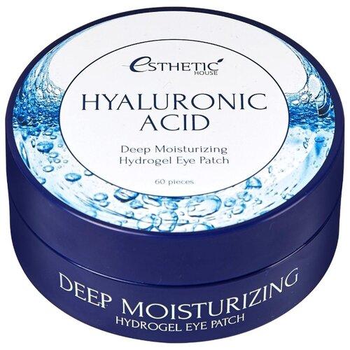 Esthetic House Гидрогелевые патчи для кожи вокруг глаз Hyaluronic Acid Hydrogel Eye Patch (60 шт.) esthetic house патчи для кожи вокруг глаз aloe vera