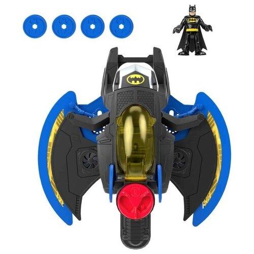 Купить Игровой набор Mattel Imaginext DC Super Heroes Самолёт Бэтмена GKJ22, Игровые наборы и фигурки