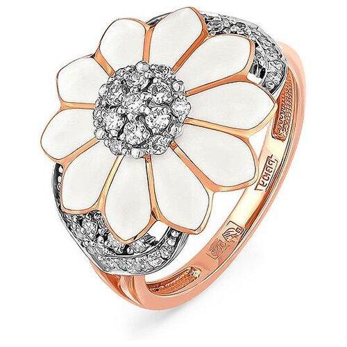 Фото - KABAROVSKY Кольцо с 43 бриллиантами из красного золота 11-0617-1010, размер 17 kabarovsky кольцо с 12 бриллиантами из красного золота 11 0398 1010 размер 17
