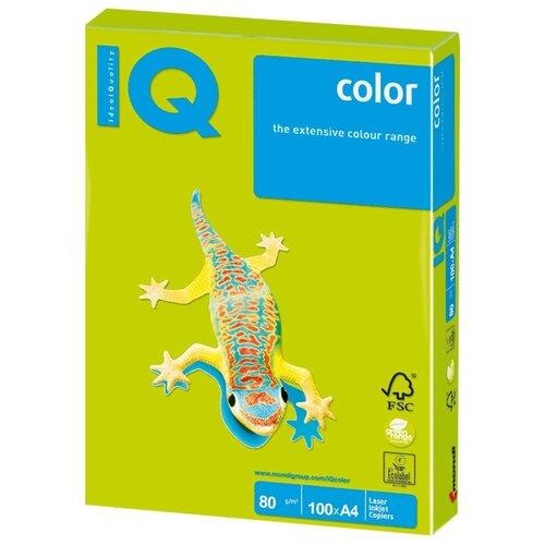Фото - Бумага IQ Color А4 80 г/м² 100 лист. зеленый неон NEOGN 1 шт. бумага iq color а4 color 120 г м2 250 лист оранжевый or43 1 шт