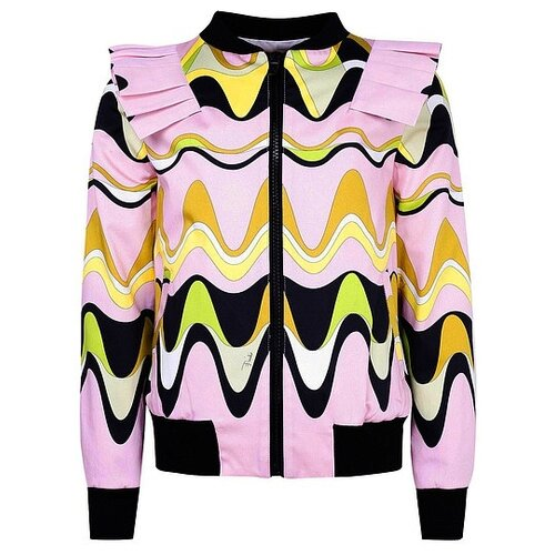 Бомбер Emilio Pucci 9I2071 IB530 размер 140, розовый emilio pucci куртка