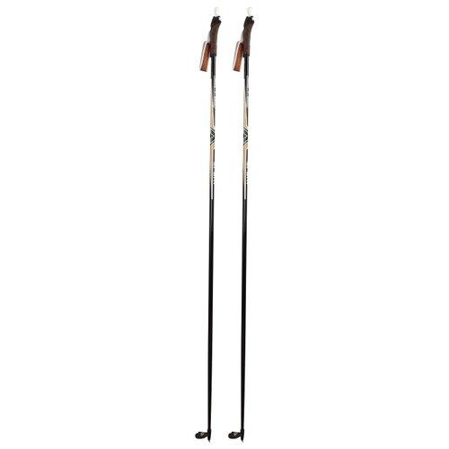 Лыжные палки STC Sport черный 155 цикл палки лыжные с рисунком 100 см цикл