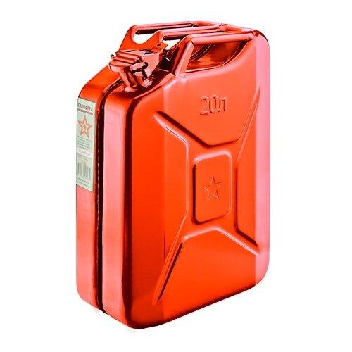Канистра стальная 20л. КС-20, красная (0.7мм)