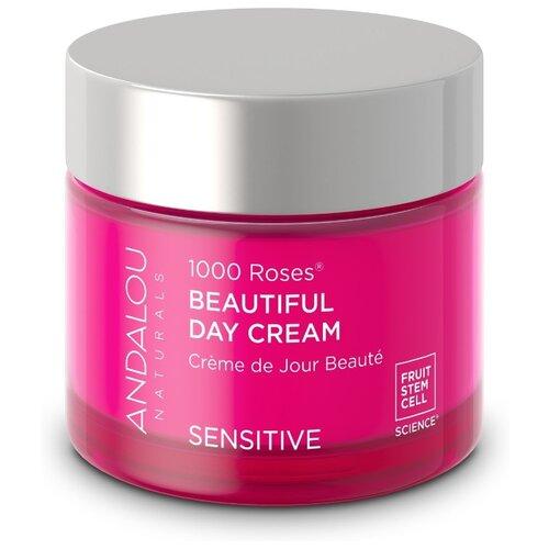 Andalou Naturals 1000 Roses Sensitive Beautiful Day Cream Крем Дневной для лица, 50 г недорого
