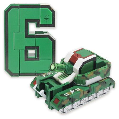 Купить Трансформер 1 TOY Трансботы XL Боевой расчет - 6 - Громобот зеленый, Роботы и трансформеры