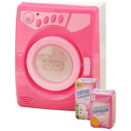 Купить Стиральная машина Happy Valley 3514960 розовый, Детские кухни и бытовая техника