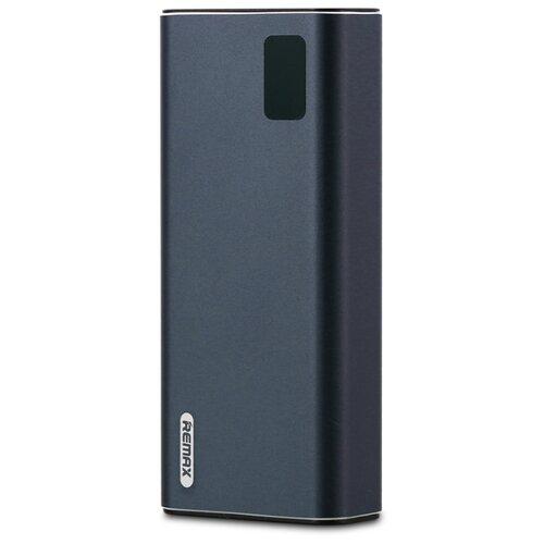 Аккумулятор Remax Mini Pro 10000 mAh RPP-155, синий внешний аккумулятор remax jeni rpp 90 10000mah blue