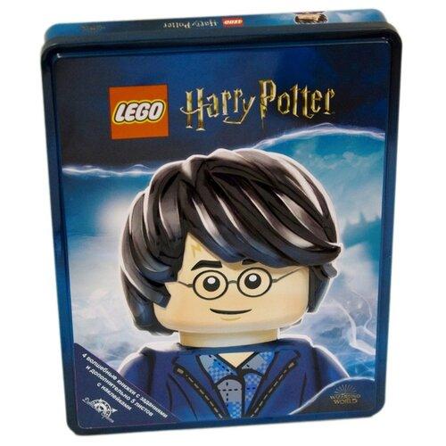 Набор книжек с наклейками LEGO Harry Potter, 4 шт. книжка с наклейками harry potter турнир трёх волшебников
