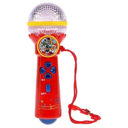 Купить Умка микрофон B1252960-R5 красный, Детские музыкальные инструменты