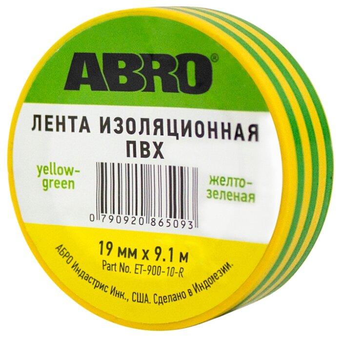 Изолента ABRO ET-900-10-R
