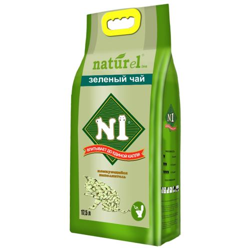 Фото - Комкующийся наполнитель N1 Naturel Зеленый чай 17.5 л комкующийся наполнитель n1 naturel зеленый чай 17 5 л