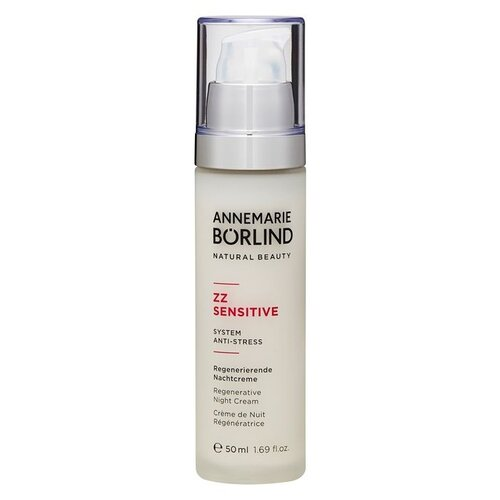 Annemarie Borlind ZZ Sensitive Regenerative Night Cream Крем ночной Восстанавливающий для лица, 50 мл