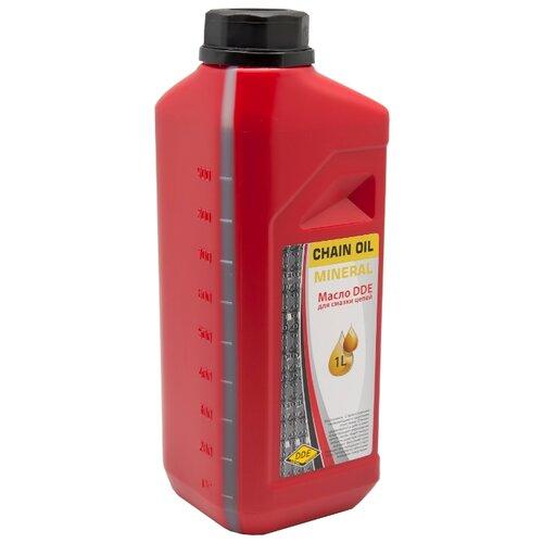 Масло для смазки цепи DDE Chain Oil 1 л масло dde 1l синтетическое red ss 2t для 2 х тактных двигателей