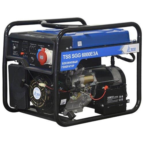 Бензиновый генератор ТСС SGG 6000 E3A (6000 Вт)