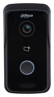 Вызывная (звонковая) панель на дверь Dahua DHI-VTO2111D-WP черный