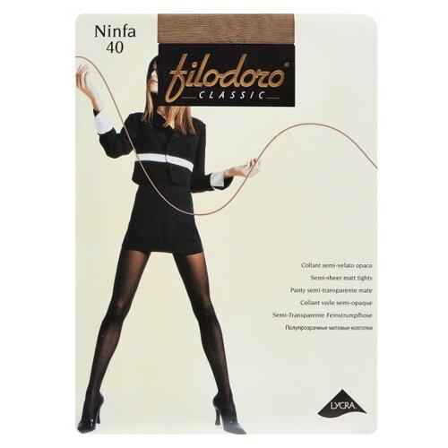 Колготки Filodoro Classic Ninfa 40 den, размер 3-M, playa (бежевый) колготки filodoro classic ninfa 40 den размер 5 xl playa бежевый