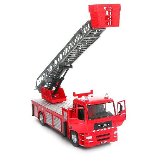 Пожарный автомобиль Zhorya Сила техники (ZYC-0544-2) красный автомобиль zhorya в32769 красный
