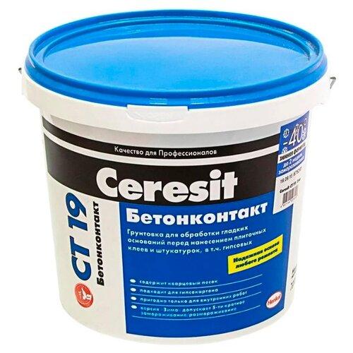 Грунтовка Ceresit CT 19 Бетонконтакт (зимняя формула) 15 кг