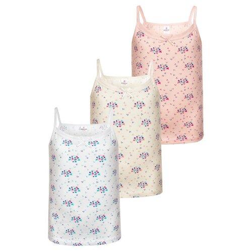 Купить Майка BAYKAR размер 146/152, белый/розовый/молочный, Белье и купальники