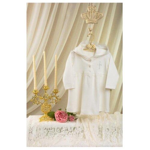 Платье Её Малышество размер 62, молочный