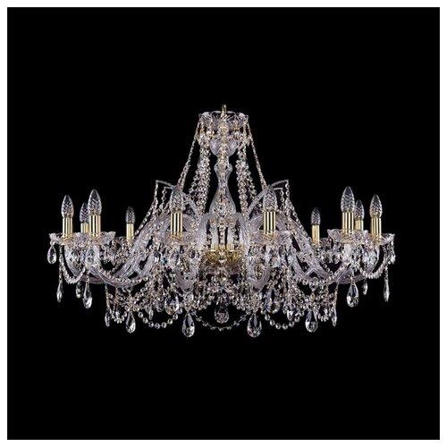 Люстра Bohemia Ivele Crystal 1411 1411/12/360/G, E14, 480 Вт bohemia ivele crystal подвесная люстра 1411 12 380 72 g