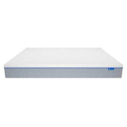 Фото - Матрас Blue Sleep Hybrid 2.0 90x200, пружинный, двухзонный, светло-серый blue sleep blue sleep hybrid 100х200