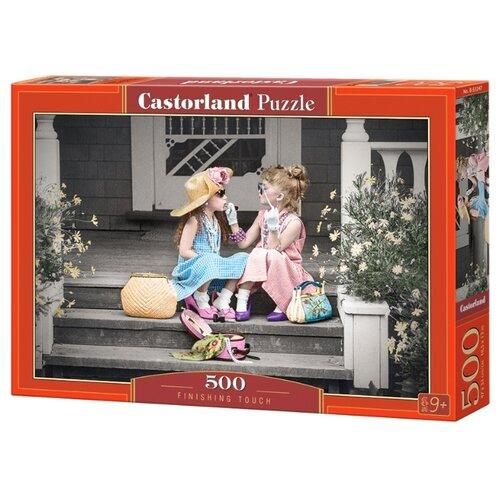 Купить Пазл Castorland Finishing touch (B-53247), 500 дет., Пазлы