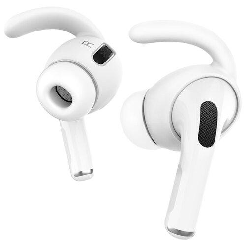 Амбушюры силиконовые Deppa Hooks для AirPods Pro, ушной крюк, 2пары, белый
