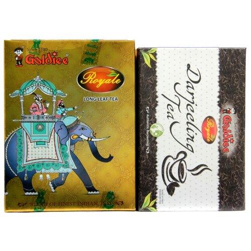 Чай черный Goldiee Дарджилинг Darjeeling Tea и Крупнолистовой Long Leaf Tea, набор