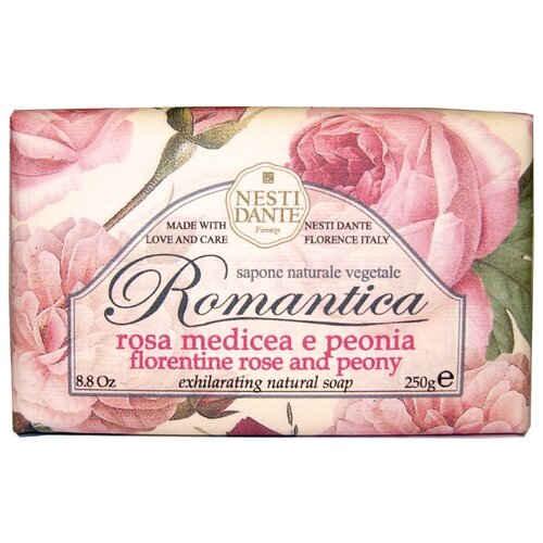 Фото - Мыло кусковое Nesti Dante Romantica Florentine Rose and Peony, 250 г nesti dante fig and almond milk shower gel