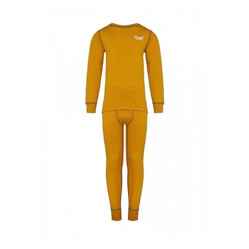 Купить Комплект термобелья Oldos 4-2-0-mn размер 98, желтый, Термобелье
