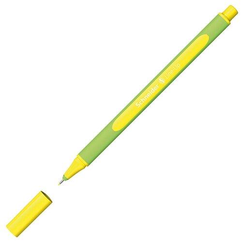 Schneider Ручка капиллярная Line-Up, 0.4 мм, неон желтый цвет чернил