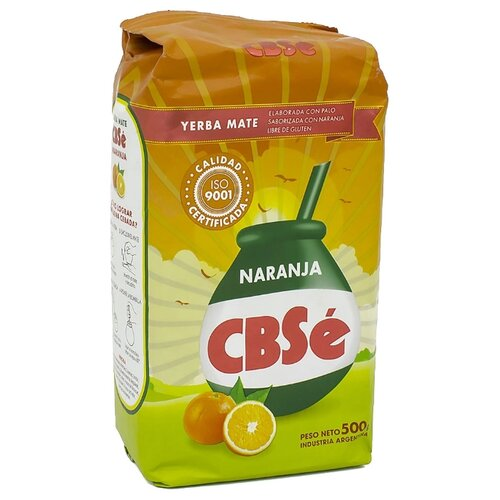 Чай травяной CBSe Yerba mate Naranja , 500 г чай травяной amanda yerba mate naranja 500 г