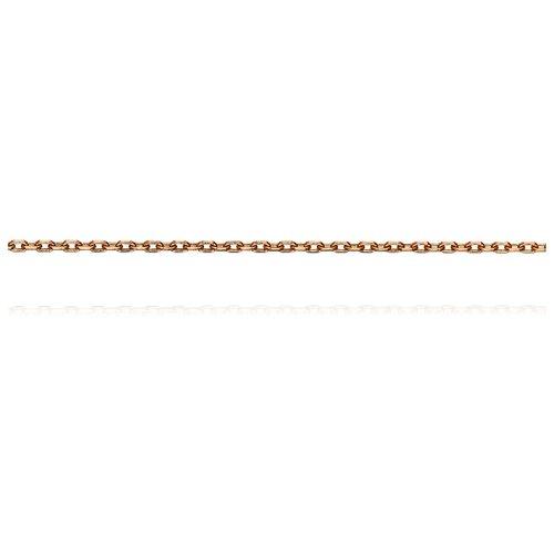 АДАМАС Цепь из золота плетения Якорь одинарный ЦЯ125СА4-А51, 50 см, 1.22 г