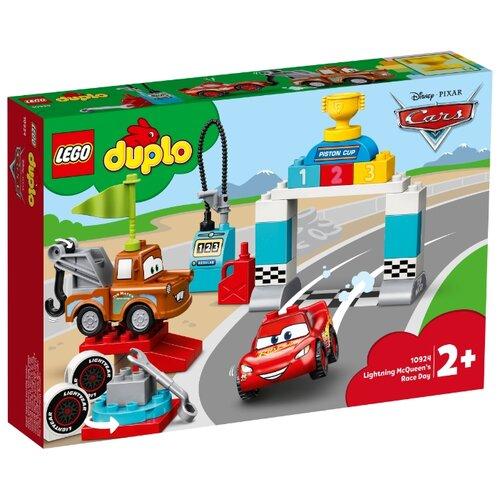 Купить Конструктор LEGO DUPLO 10924 Гонки Молнии МакКуина, Конструкторы