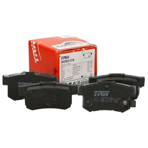 Дисковые тормозные колодки передние TRW GDB3175 для Honda, MG, Rover (2 шт.) фото