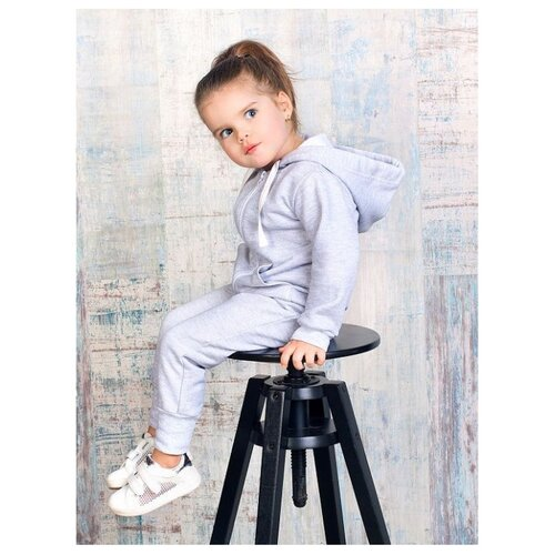Фото - Комбинезон Веселый Малыш размер 92, серый меланж комбинезон веселый малыш размер 74 серый