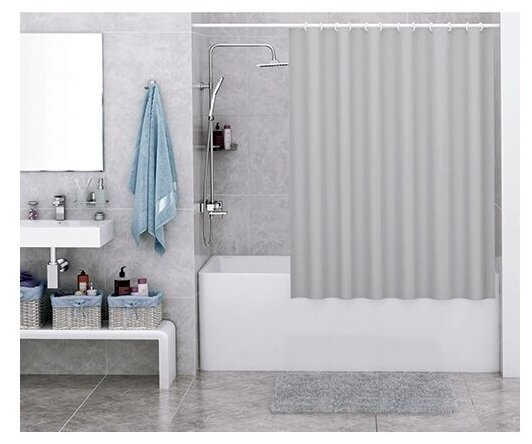 Штора для ванной WasserKRAFT Oder SC 30501