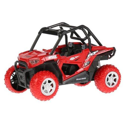 Купить Багги ТЕХНОПАРК FY6033G-SL-RD 11.5 см красный/черный, Машинки и техника