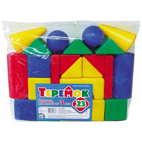 Купить Кубики Десятое королевство Теремок-23 00883, Детские кубики
