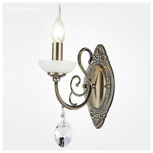 цена на Настенный светильник Eurosvet Ostin 60055/1 античная бронза, 60 Вт