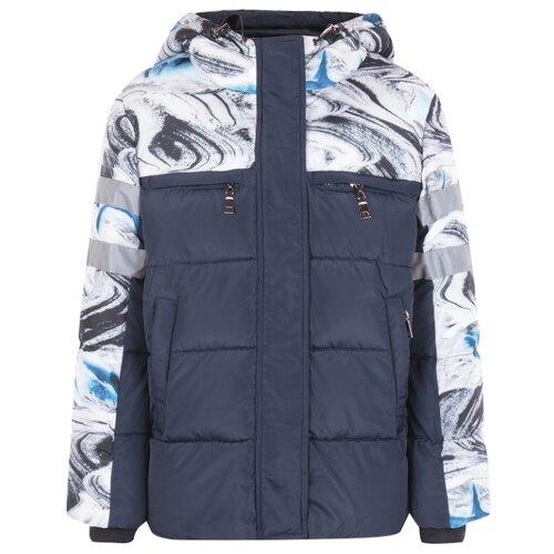 Купить Куртка Fun time размер 140, мультиколор/черный, Куртки и пуховики