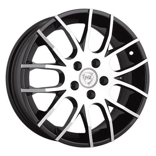 Фото - Колесный диск NZ Wheels F-38 6x15/4x98 D58.6 ET35 BKF колесный диск nz wheels sh665 5 5x14 4x98 d58 6 et35 bkf