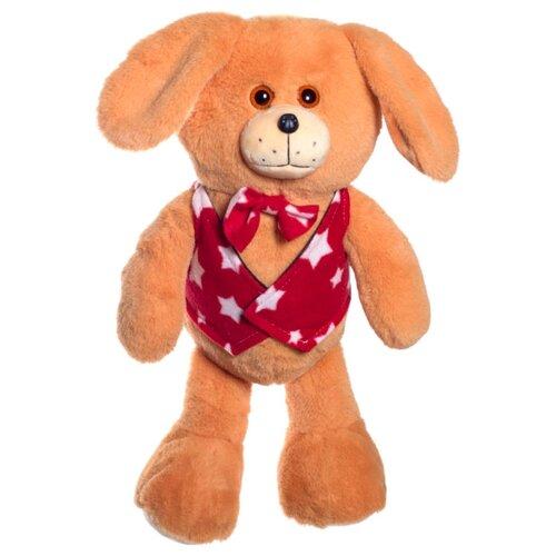 Мягкая игрушка Нижегородская игрушка Зоопарк в жилетке Собака 40 см мягкая игрушка нижегородская игрушка зоопарк с бантиком медведь 40 см